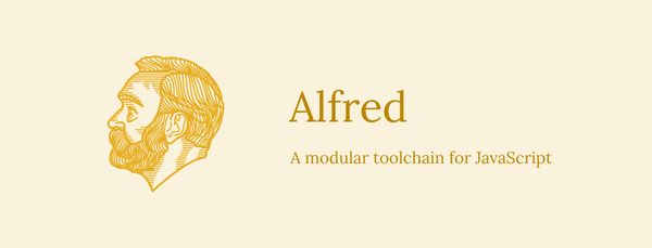 Alfred - A Modular Toolchain for JavaScript